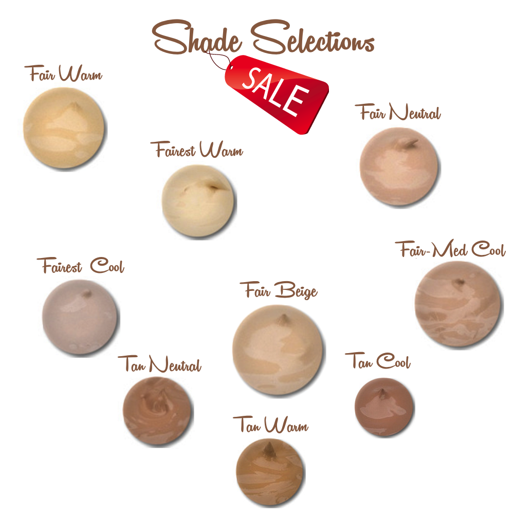 Liquid Makeup Shade Selections Sale