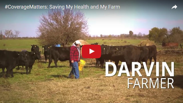 YouTube Embedded Video: #CoverageMatters: Saving My Health and My Farm