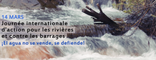 Comunicado para el 14 de marzo Día Internacional de Acción contra las Represas y en Defensa de los Ríos, el Agua y la Vida