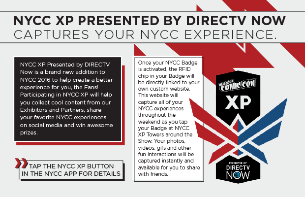 NYCC XP Presented By Direct TV captures Your NYCC Experience