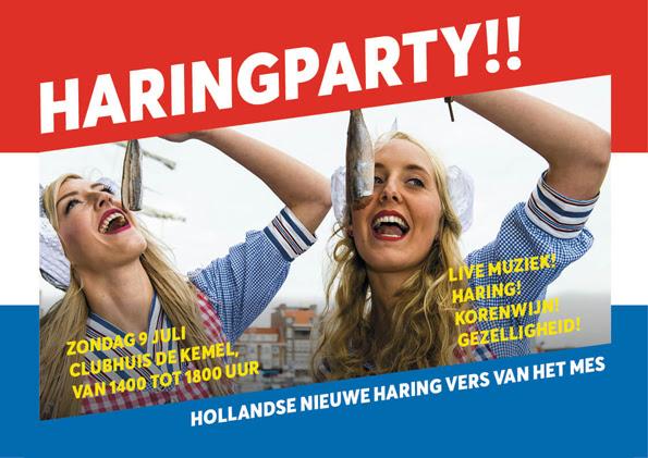 Haringparty Watersportvereniging Arne 9 juli