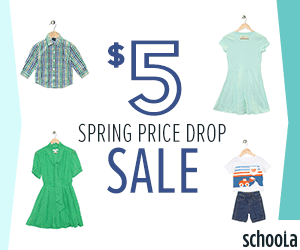 Spring Finds Dropped to $5 at.