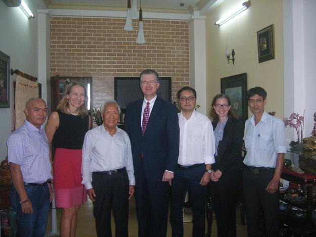 Đại sứ Daniel Kritenbrink nói gì với Bác sĩ Nguyễn Đan Quế?