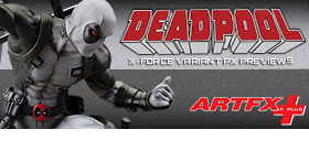 MARVEL NOW DEADPOOL ARTFX X-FORCE COSTUME