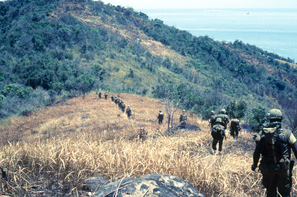 Marines near Con Thien, 1967.