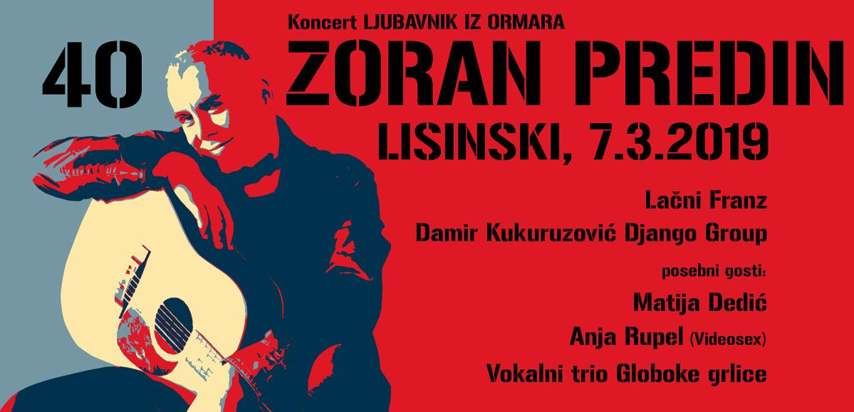 """Zoran Predin predstavlja prvi singl s nadolazećeg albuma """"Zoran pjeva Arsena"""""""