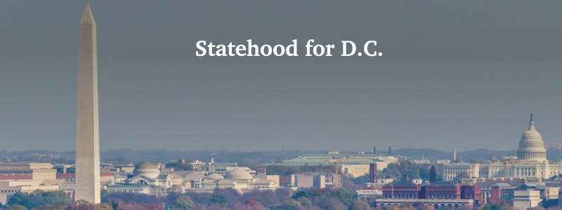 D.C. Statehood would give 712,000 tax-paying Americans full equality and autonomy in their government.