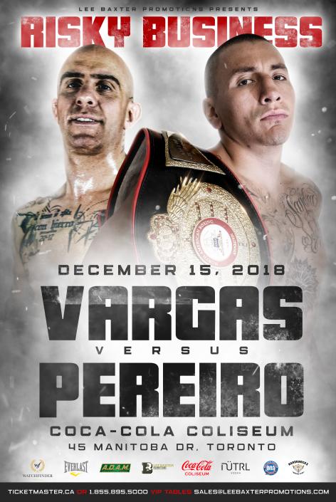 Samuel Vargas returns, faces Adrian Pereiro on Dec 15 in Toronto