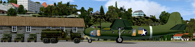 Rolling Cumulus Software - WW2 ATC Pacific Wings - Intratheatre Air Transport