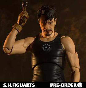 Iron Man S.H.Figuarts Tony Stark (Birth of Iron Man Edition) Exclusive