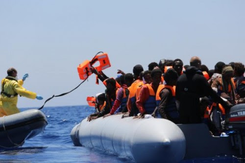 Frontex migrants