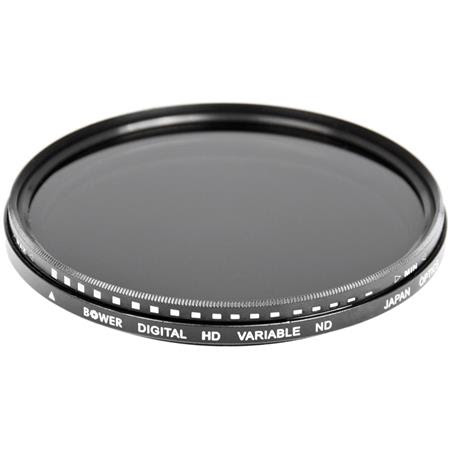 77mm Variable Neutral Density (ND) Filter - 2 to 8 Stops