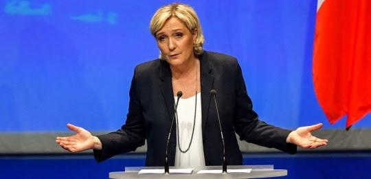 Marine Le Pen, le 11 mars à Lille, lors du congrès du FN.
