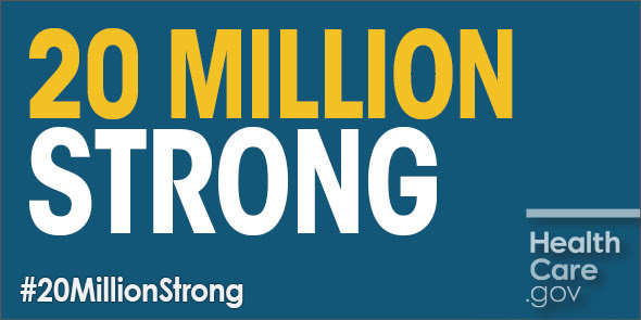 Affordable Care Act #20MillionStrong