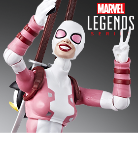 SPIDER-MAN MARVEL LEGENDS GWENPOOL