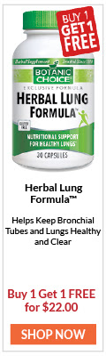 Helps Keep Bronchial Tubes and Lungs Healthy and Clear