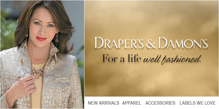Draper`s and Damon`s: 25% off.