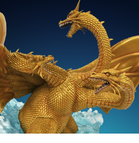 Godzilla vs. King Ghidorah Gallery Deluxe King Ghidorah Figure