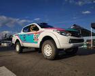 Mitsubishi L200 Triton Sport R pronto para a prova deste fim de semana (Lipe Nascimento)