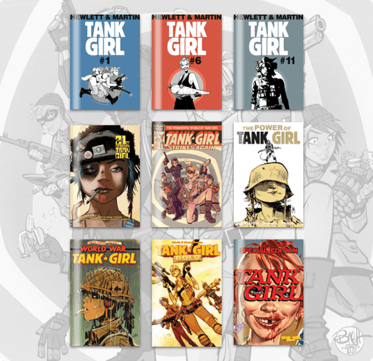 Humble Comics Bundle: Tank Girl 30th Anniversary by Titan
