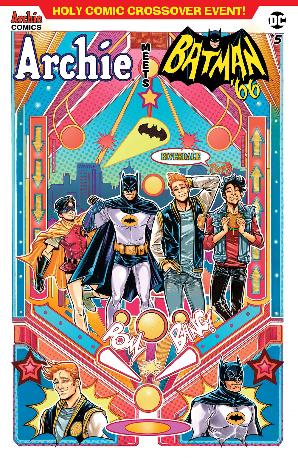 Archie Meets Batman '66 #5: CVR B Braga