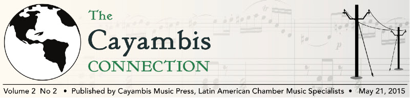 Cayambis Connection Masthead