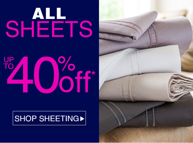 Save Up to 40% OFF All Sheets  Offer at Ezibuy.com.au