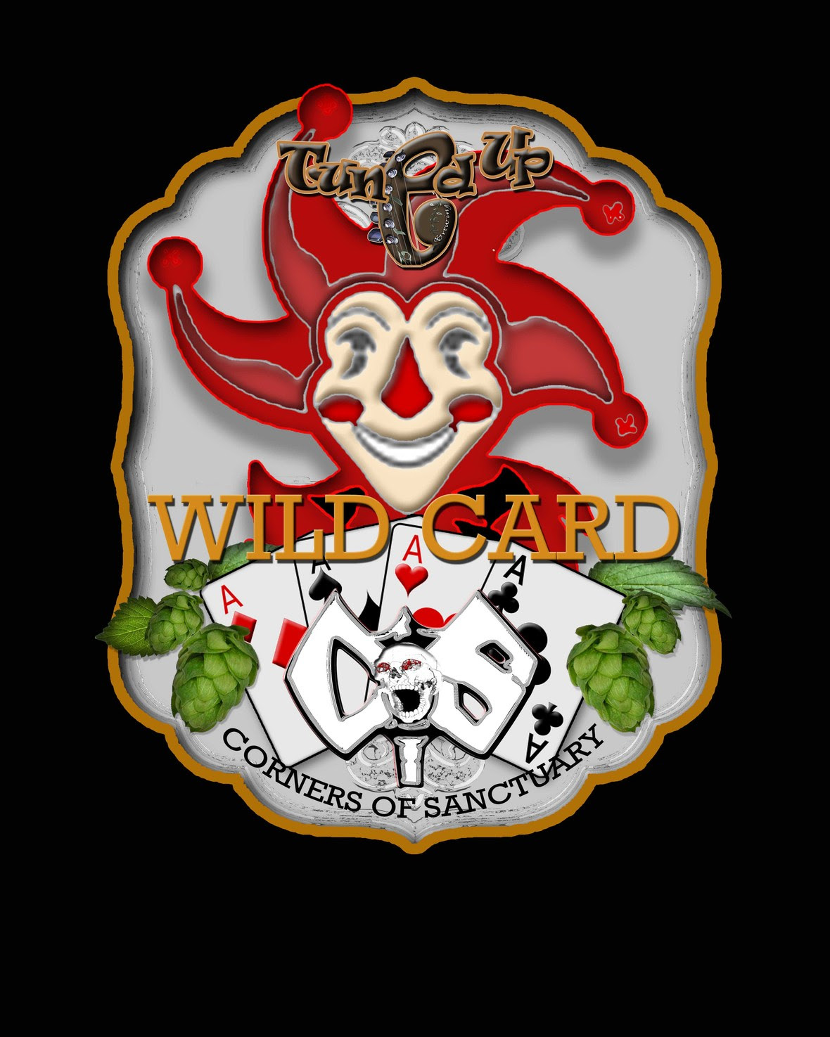 COS Wild Card Beer Label 2017