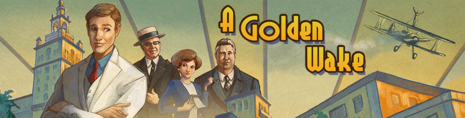 A Golden Wake adventure game coming to Linux Mac and Windows PC
