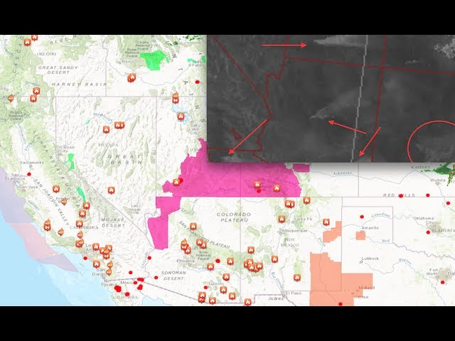 "Unprecedented - 30 wildfires/9 states - ""Turning livestock loose to run from wildfires""  Sddefault"