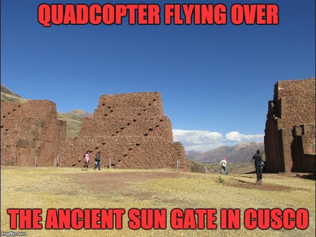 Quadcopter Flying Over Ancient Inca Ruins Near Cusco Peru  Sddefault