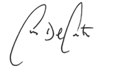 Chris Del Conte signature