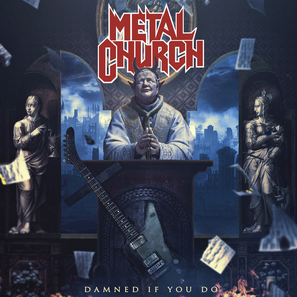Metal Church Releases New Single & Video For 'By The Numbers!'