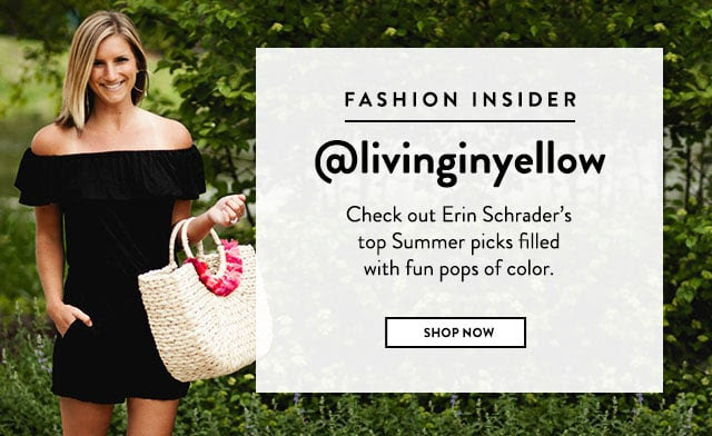Shop Top Summer Picks With @livinginyellow