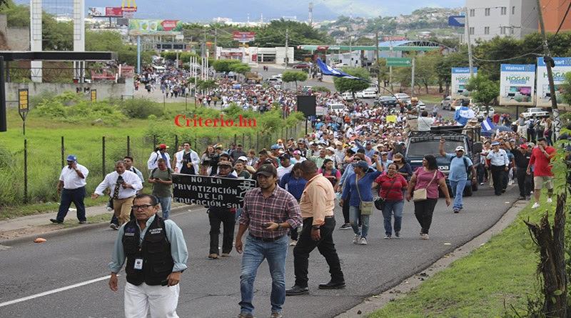 gobierno de Honduras contraataca