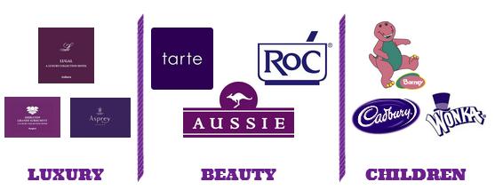 Purple in Marketing