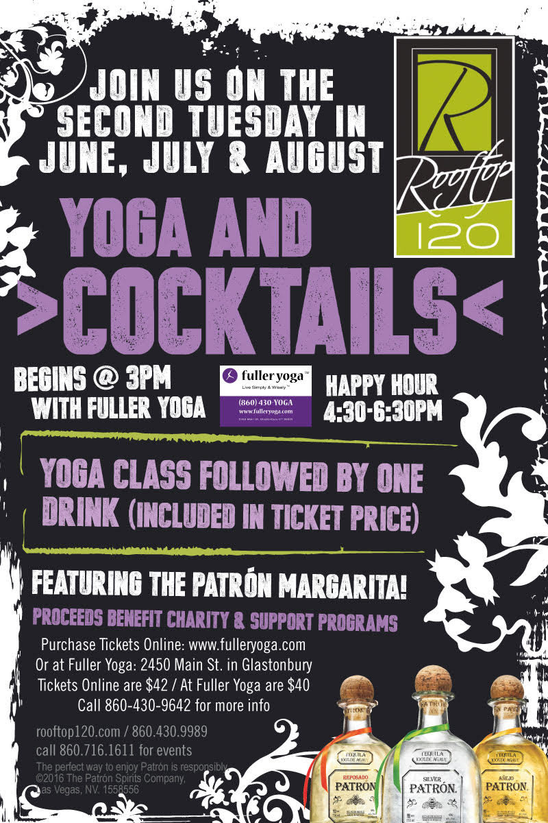 Yoga and cocktails image