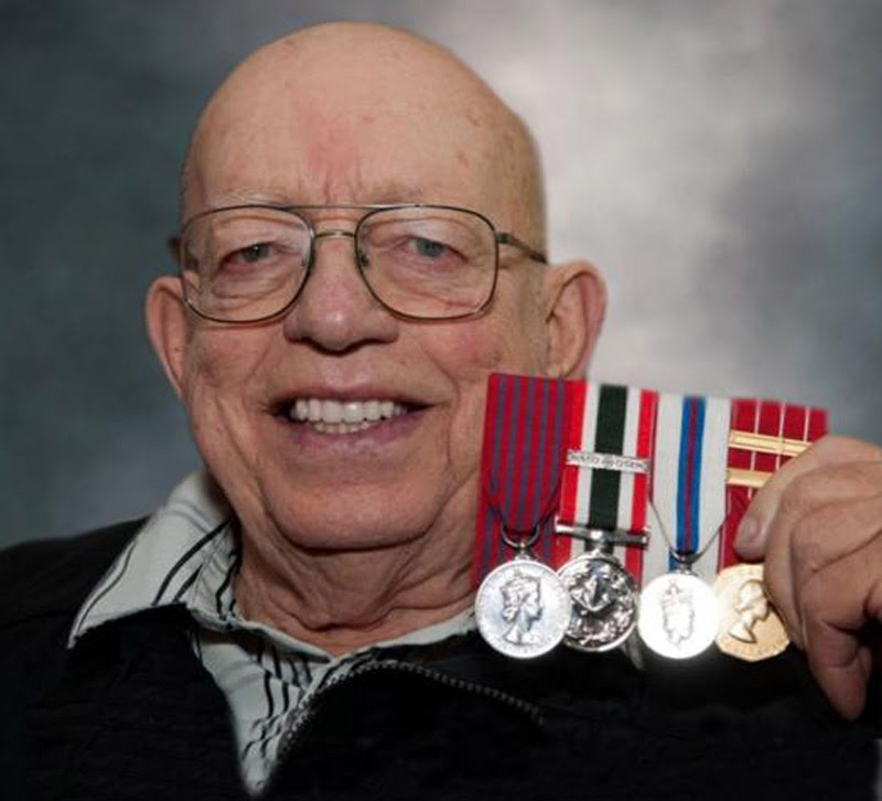Robert Morgan and the George Medal