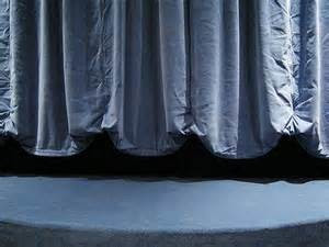 curtain rising