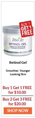 Retinol Gel -  Smoother, Younger Looking Skin