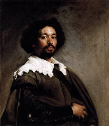 Retrato de Juan de Pareja realizado por Velázquez en 1650.