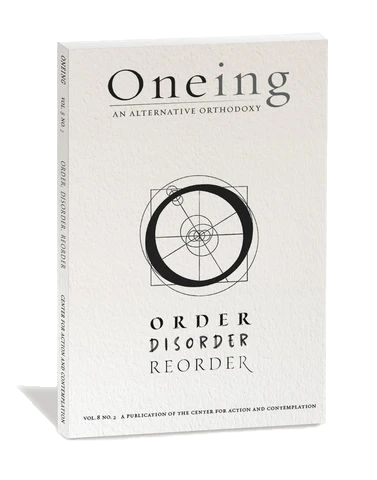 Cover for Oneing: Order, Disorder, Reorder