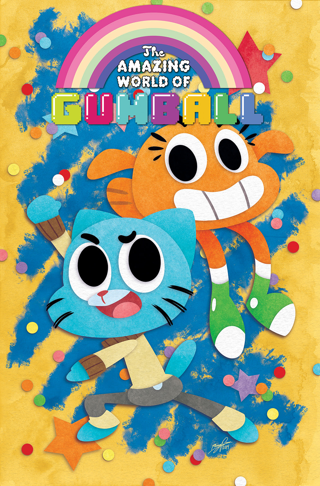 THE AMAZING WORLD OF GUMBALL #1 Cover A by Missy Pena