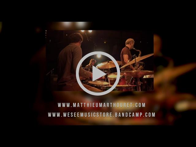 Matthieu Marthouret BOUNCE TRIO + Serge Lazarevitch (LIVE 2016 - 2017)