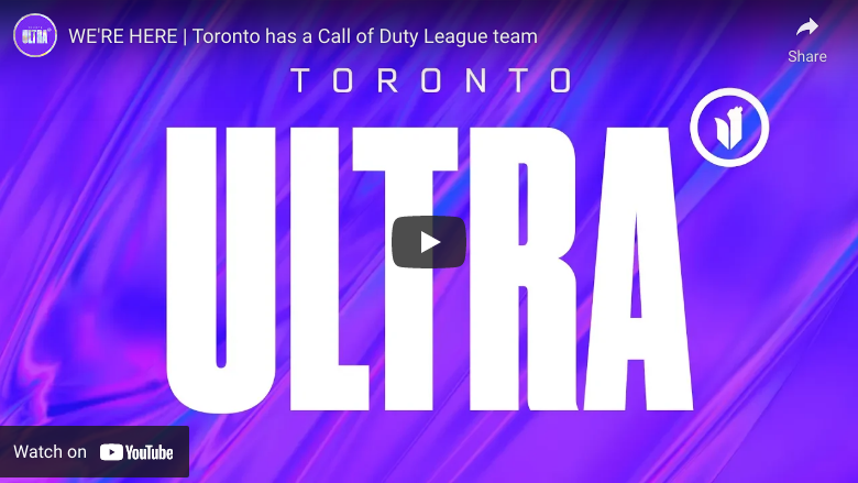 Toronto Ultra Launches As Canada's Newest Esports Franchise 8