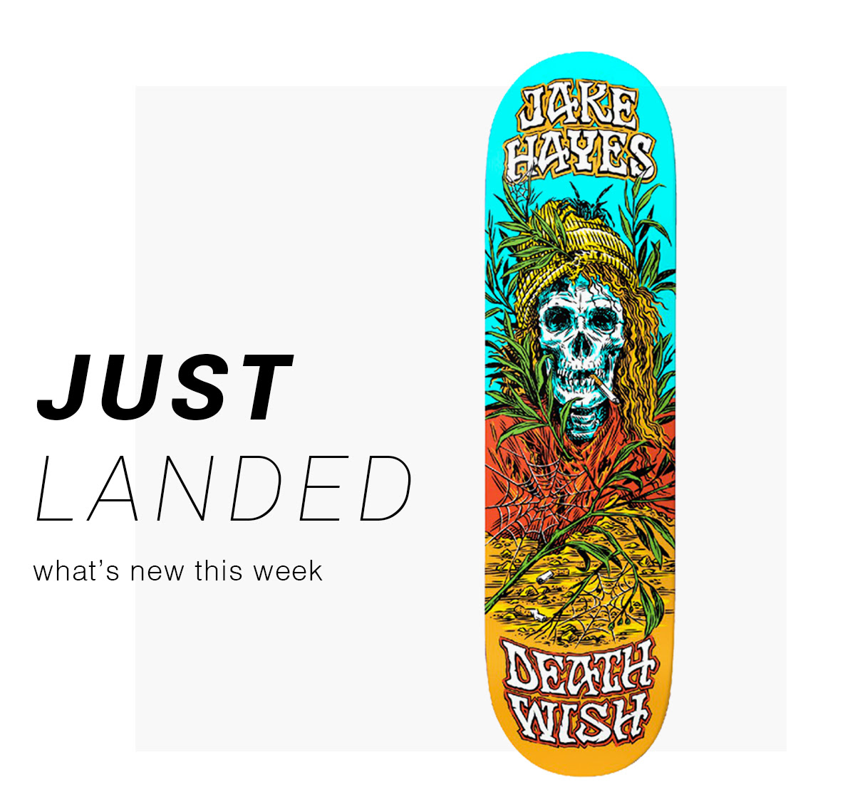 Just Landed: what's new this week