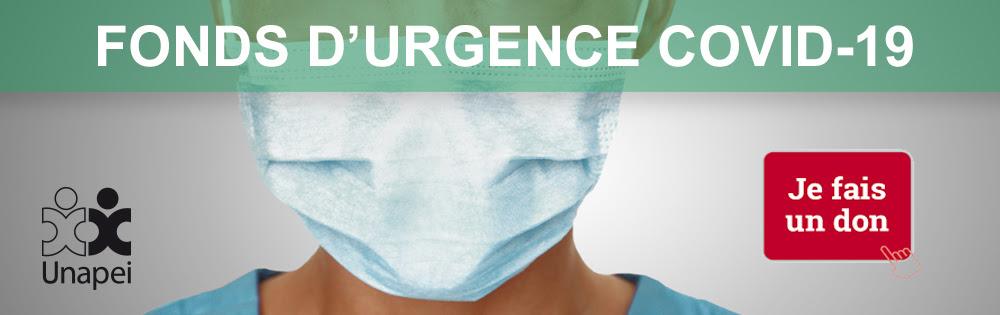 FONDS D'URGENCE COVID-19 / HANDICAP : TOUS UNIS ET SOLIDAIRES
