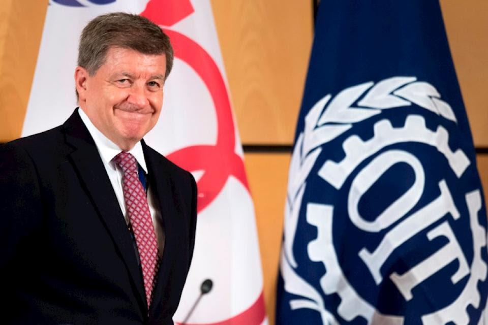 Guy Ryde, director de la Organización Internacional del Trabajo (OIT).