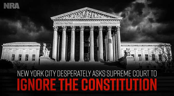 NRA Statement on New York City's Desperate Attempt to Avoid Supreme Court Review