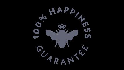100% Happiness Guarantee